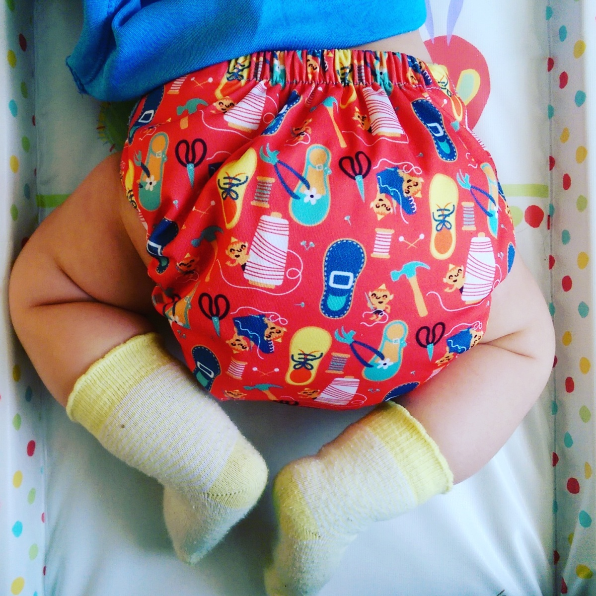 How I switched from dingy disposables to fancy pants reusable nappies