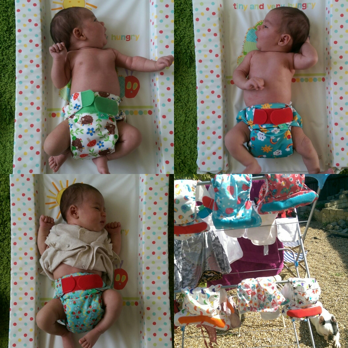 We used reusable nappies from birth to toddler (so here's a butt load of surprising facts about why they kick ass)